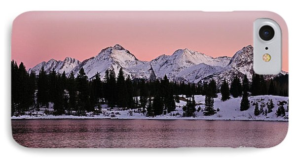 God's Light Painting At Molas Lake IPhone Case