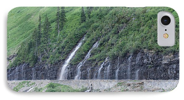 Going To The Sun Road Weeping Wall IPhone Case