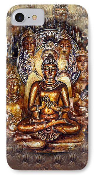 Gold Buddha IPhone Case