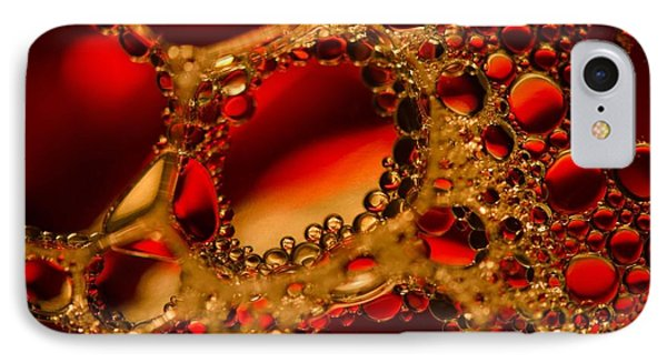 Gold With Red Rubies IPhone Case