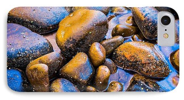 Golden Boulders IPhone Case