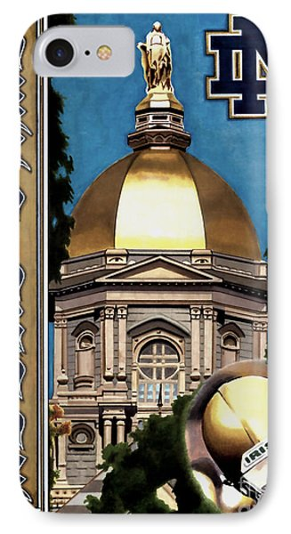 Golden Dome IPhone Case