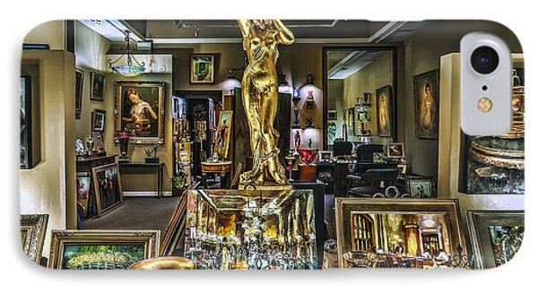 Golden Gallery IPhone Case