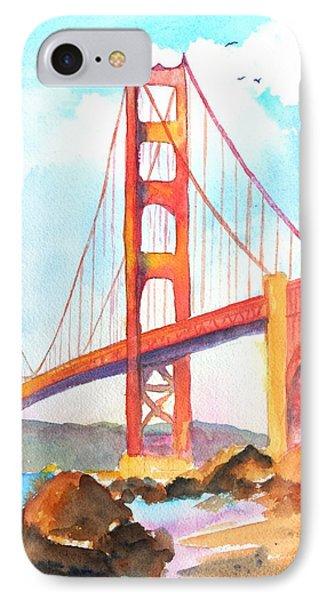 Golden Gate Bridge 3 IPhone Case