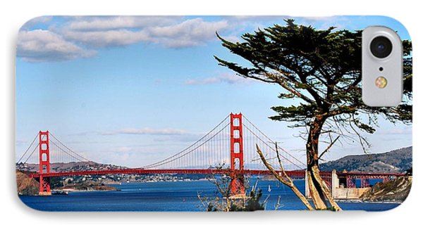 Golden Gate From The Golf Course IPhone Case