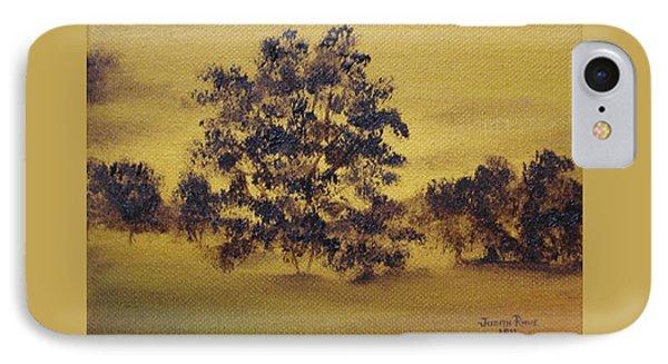 Golden Landscape IPhone Case
