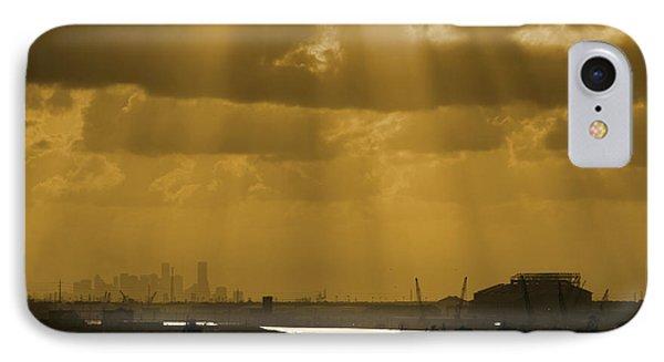 Golden Light IPhone Case