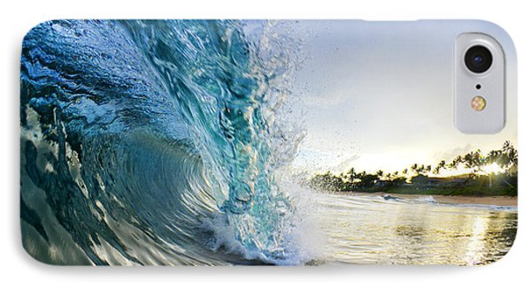 Sea iPhone 8 Case - Golden Mile by Sean Davey