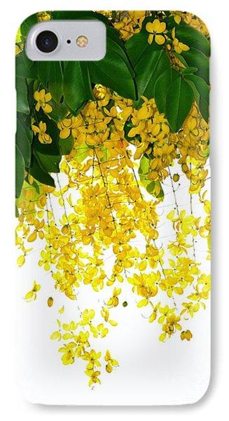 Golden Showers Flowers IPhone Case