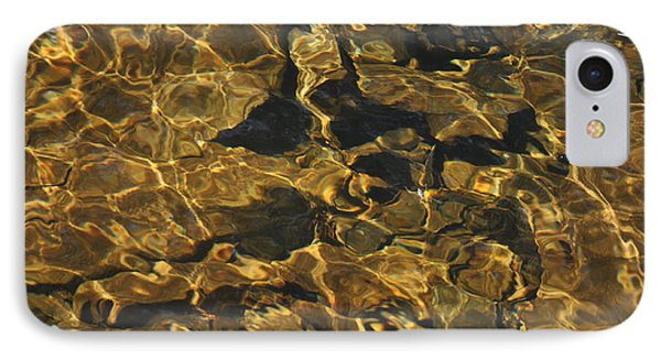 Golden Waters IPhone Case