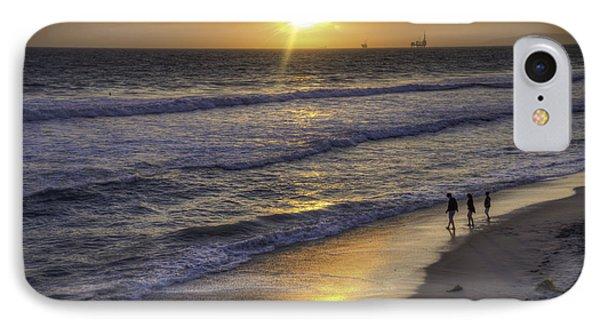 Golden West Sunset IPhone Case