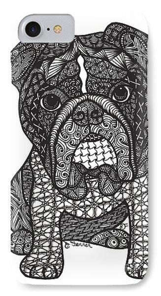 Good Dog - English Bulldog IPhone Case