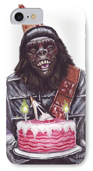 Gorilla Party IPhone Case