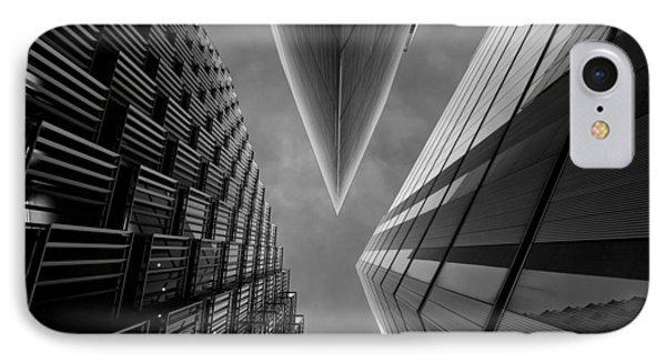 England iPhone 8 Case - Gotham City by Roland Shainidze