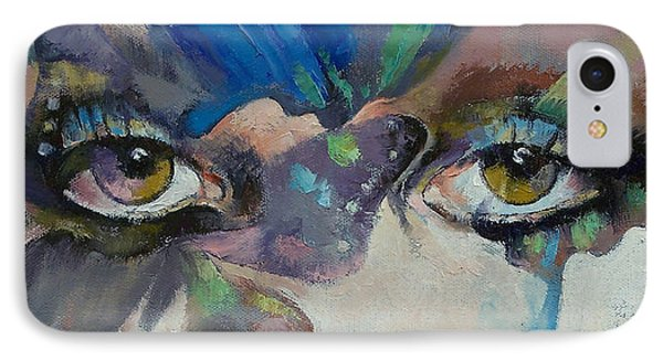 Portraits iPhone 8 Case - Gothic Butterflies by Michael Creese