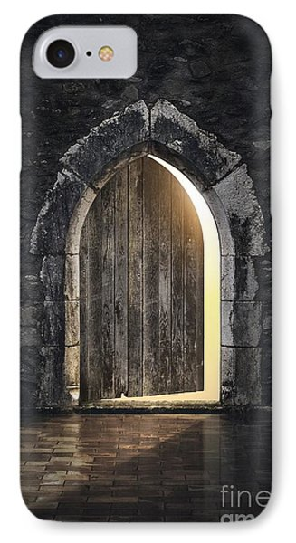 Dungeon iPhone 8 Case - Gothic Light by Carlos Caetano