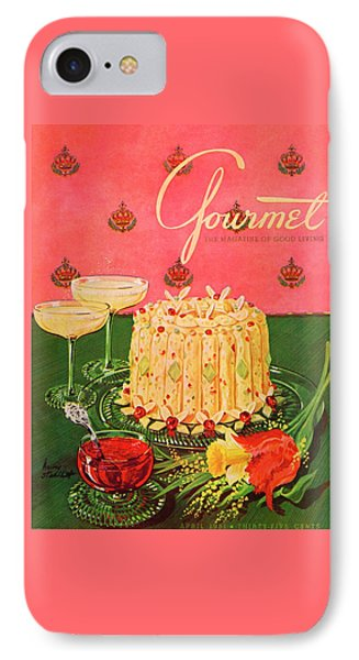 Gourmet Cover Illustration Of A Molded Rice IPhone Case