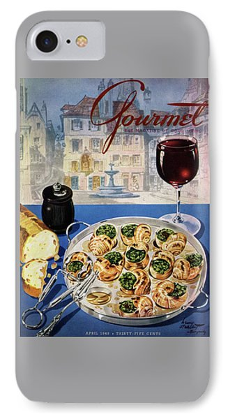 Gourmet Cover Illustration Of A Platter IPhone Case