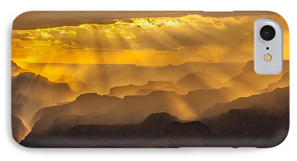 Grand Canyon Lightshow IPhone Case