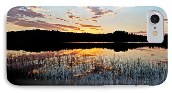 Grand Sable Lake Sunset IPhone Case