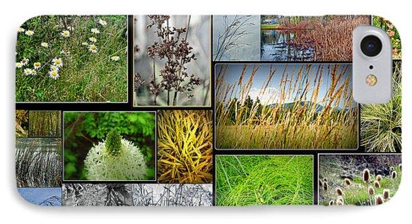 Grass Collage Variety IPhone Case
