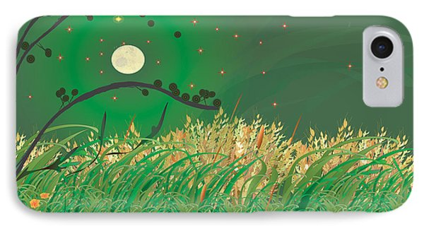 Grasses In The Wind IPhone Case