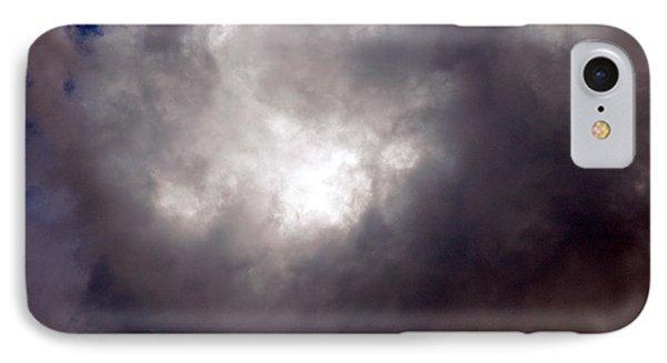 Gray Cloud IPhone Case