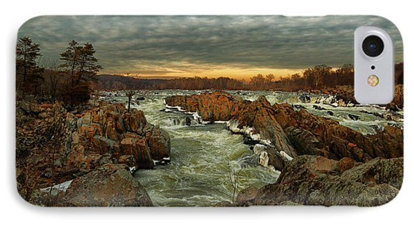 Great Falls Virginia Winter 2014 IPhone Case