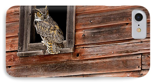 Great Horned IPhone Case
