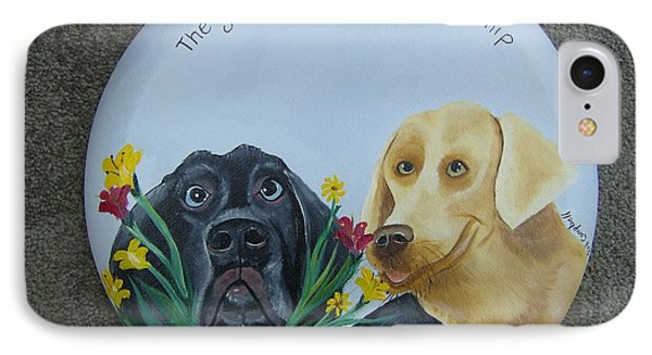 Greatest Gift Is A Dogs Friendship IPhone Case