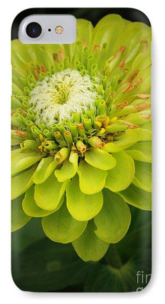 Green Dahlia IPhone Case