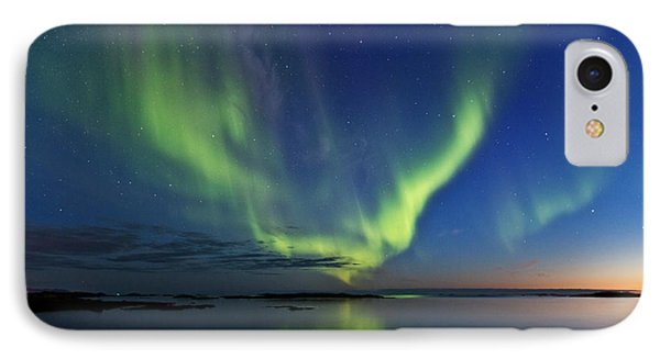 Green Horizon IPhone Case