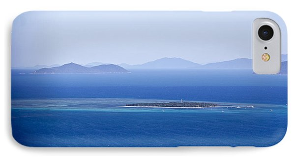 Green Island With Fitzroy Island In The Back Ground IPhone Case