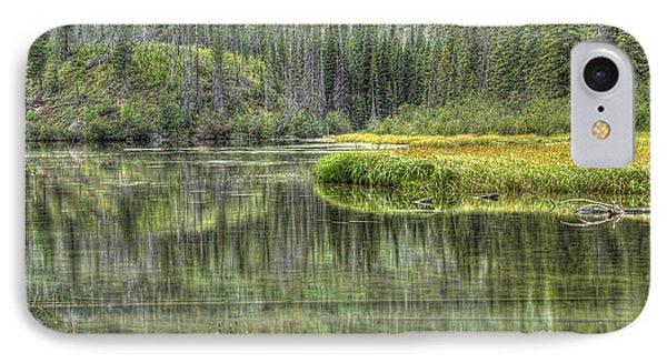 Green Lake IPhone Case