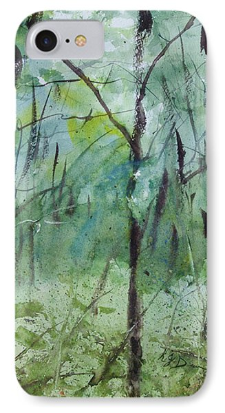 Green Morning 1 IPhone Case