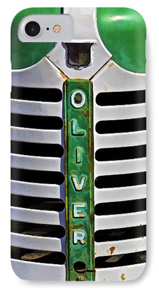 Green Oliver Farm Tractor IPhone Case
