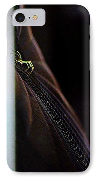 Green Spider IPhone Case