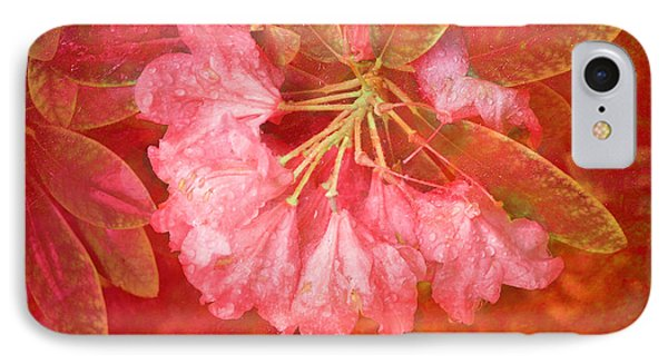 Gregg's Flowers With Textures IPhone Case