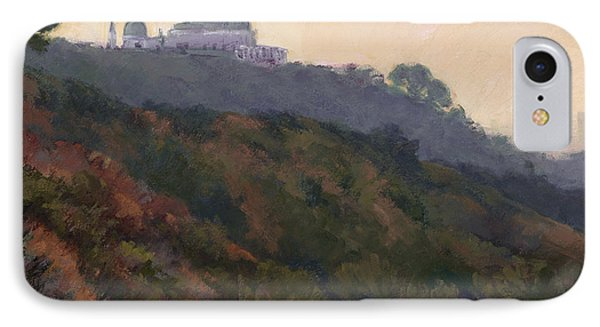 Griffith Park Observatory- Late Morning IPhone Case