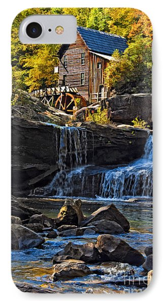 Grist Mill In Babcock State Park West Virginia IPhone Case
