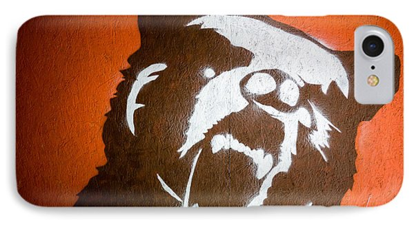 Grizzly Bear Graffiti IPhone Case