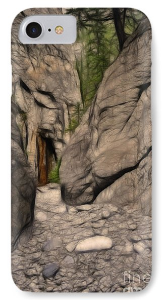 Grotto Canyon Fractal IPhone Case