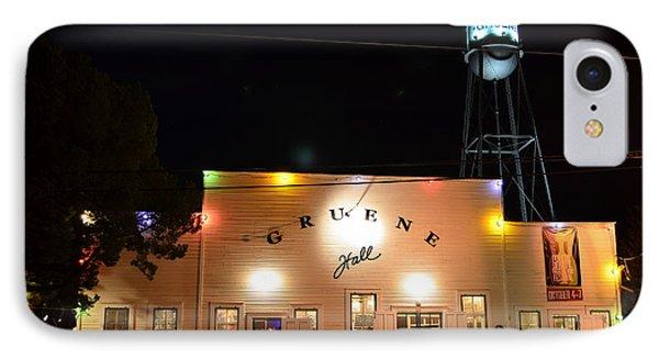 Gruene Hall IPhone Case