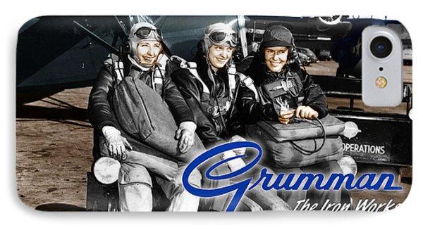 Grumman Test Pilots IPhone Case