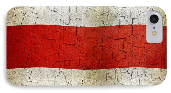 Grunge Costa Rica Flag IPhone Case