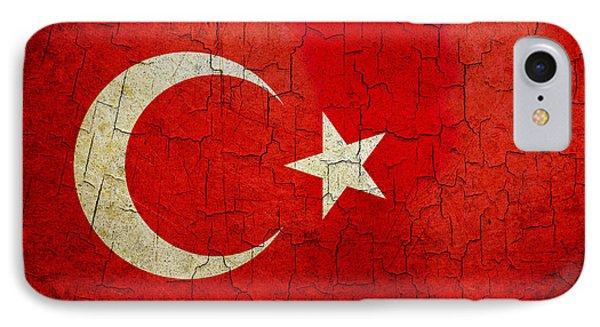 Grunge Turkey Flag IPhone Case