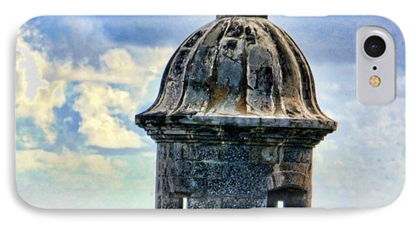 Guard Tower At El Morro IPhone Case