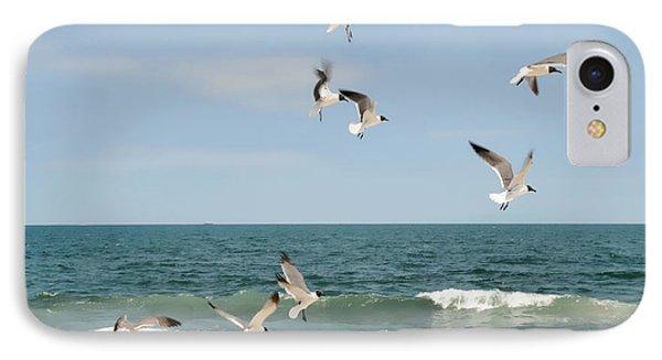 Gulls A Dance'n IPhone Case