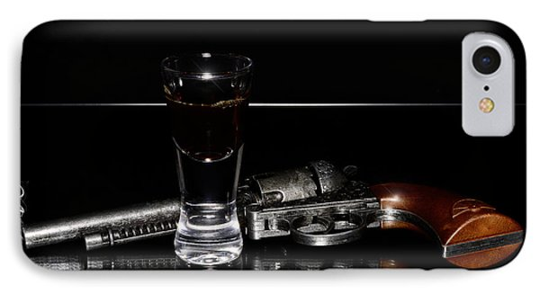 Gun With Smoke IPhone Case