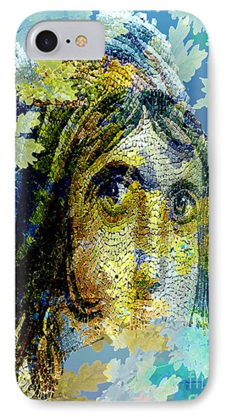 Gypsy Girl Mosaic IPhone Case